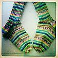 Spruced Up Simpleton Socks