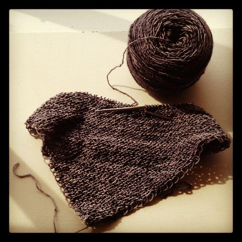 Madelinetosh shawl