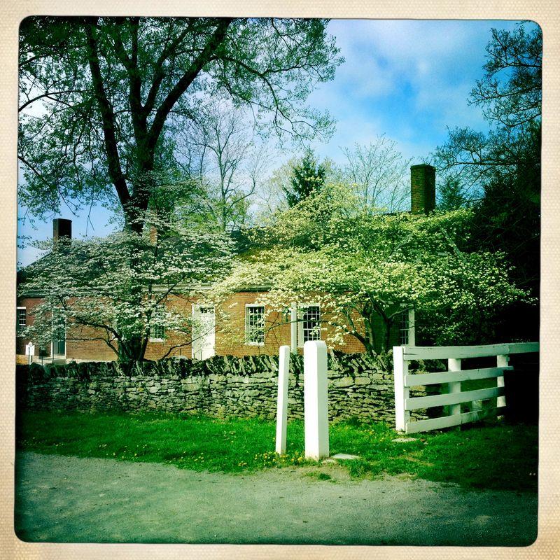 Spring in shaker village