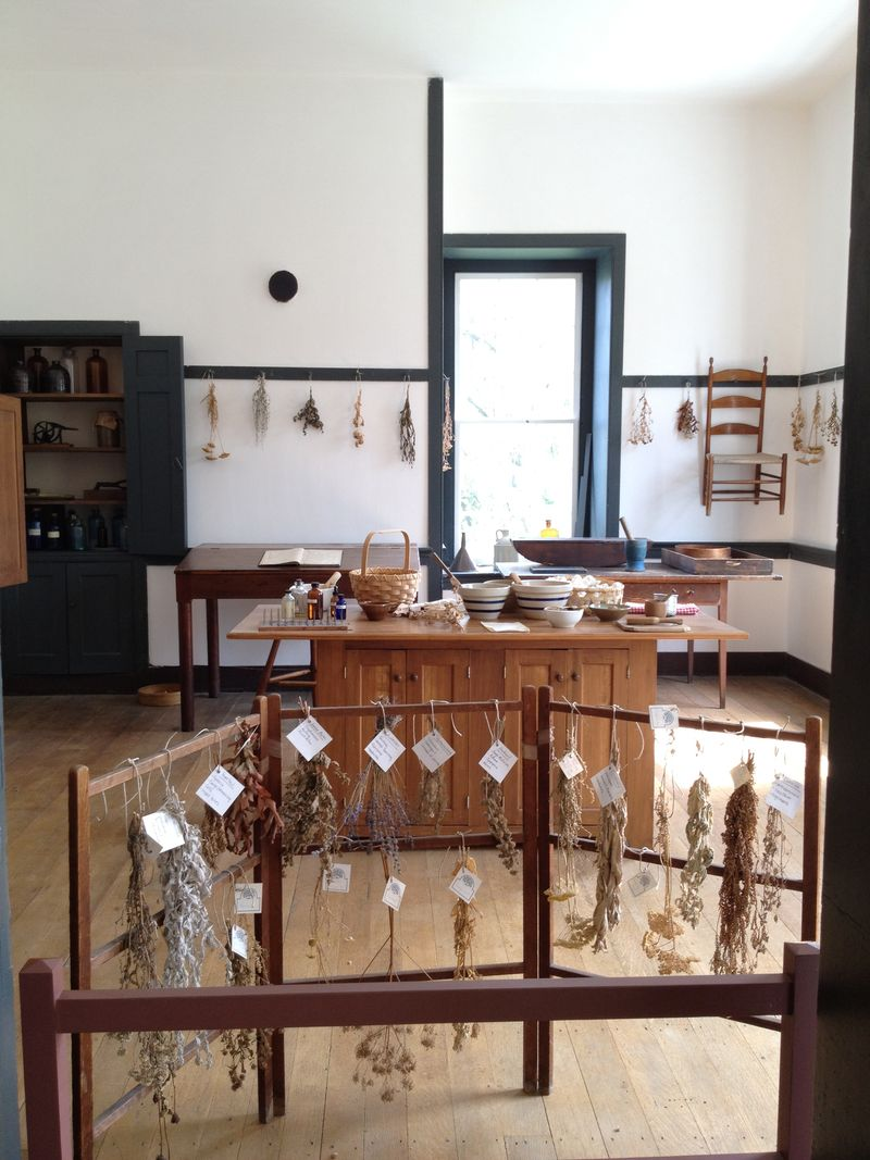 Shaker herb room