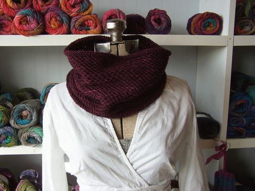 2010 The Knits Honey Cowl