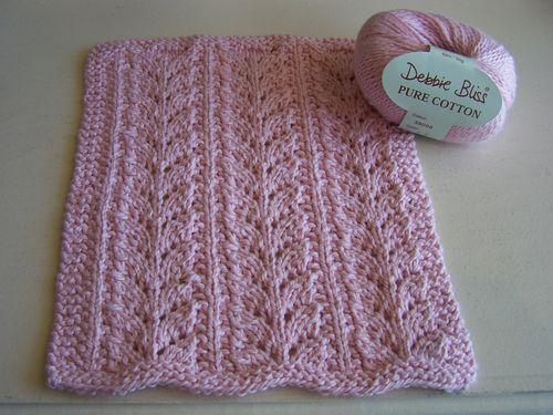 Baby Fern Stitch Dishcloth